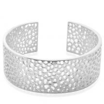 Sterling Silver Bangle (Size 8)